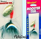 NEW Rooster Tail FLAME DALMATION Lure Fishing Spinners Choice of Size & Quantity