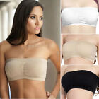 New Strapless Seamless Padded Boob Bandeau Tube Tops Bra Hot Selling