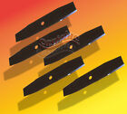 5 Edger Blades10 X 1/2 Tapered Fits PowerTrim, Mclane, Lesco - Sharpened 4 Sides