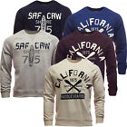 South Shore Mens Sweatshirt Jumper Soft Cotton Crew Neck S M L XL