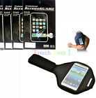 Sport Armband Case Cover + 6x Screen Protector FOR Cell Phones Phablet 2013 UK