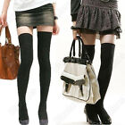 LONG COTTON SOCKS THIGH HIGH OVER THE KNEE THINNER STOCKINGS 3 COLOURS FOR WOMEN