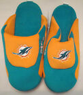 Miami Dolphins Adult Size Low Pro Stripe Slippers