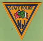 NEW JERSEY STATE POLICE EMERALD SOCIETY SHOULDER IRISH PATCH