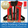 """2 x AXIS OFFSHORE """"PRO"""" RED MANUAL INFLATABLE PFD1 LIFEJACKET 150N Life Jackets"""