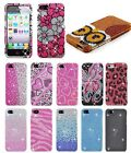Bling Gem Hard Cover Snap On Case For iPhone 5 5S Accessory