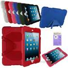 Kids ShockProof Armor Hard Case Cover With Stand  For iPad Mini 1/2/3 & Retina