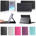 Leather Cover Stand Case Bluetooth 3.0 Wireless Keyboard for iPad Air 2 iPad 6th