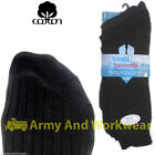 3 x Pairs Mens Rib Boot Socks Smart Formal Suit Cotton Ribbed Casual Work Shoes