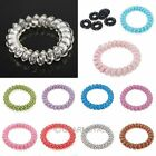 10pcs Women's Ladys Elastic Rubber Fashion Hairband Hair Tie Rope Band Ponytail