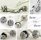 925 Silver Jaime Daisy Flower Series I  Beads fit European Charms Bracelets