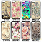 Chic Nice Various Painted Pattern Hard Back Case Cover for IPhone4 4S 5 5S BD8U