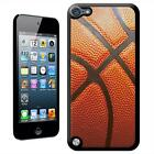 Close Up of Leather Basketball Case Back Cover For iPod Touch 5th Gen
