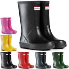 Unisex Kids Hunter Kids First Classic Rain Snow Waterproof Wellingtons UK 7-2