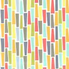 PEGS A PLENTY - PASTELS MULTI - MICHAEL MILLER COTTON FABRIC geo fashion print