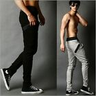 Korean Style Men's Sport Pants 7 Color Sexy Slim Fit Cool Jogger Casual Trousers