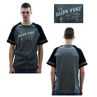 Iron Fist Trading Co. Men's Raglan T-Shirt Baseball Tee