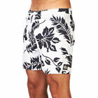 Quiksilver Shrimp Truck E16  Mens  Board Shorts - White