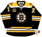 JAROME IGINLA BOSTON BRUINS 90TH ANNIVERSARY RBK PREMIER JERSEY