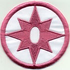 """3.5"""" Star Sapphire Lantern Corps Classic Style Embroidered Iron-On Patch"""