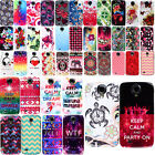 For Samsung Galaxy S4 I9500 I9505 I337 Art Design PATTERN HARD Case Back Cover