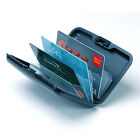 Aluminum Wallet Credit Card Holder RFID Protection Light Durable Safe & Stylish