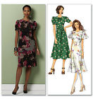 SEWING PATTERN Butterick B5417 Misses Fitted YOKE WAIST ROUND NECK DRESSES