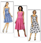 SEWING PATTERN Butterick B5641 Misses Custom Fit SLEEVELESS SUMMER DRESSES