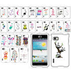 For LG Optimus F3 MS659 Art Beautiful Design Image PATTERN HARD Case Phone Cover