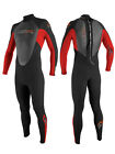 2014 O'Neill Reactor Kids Wetsuit Black Red 3 X 2  Wetsuit
