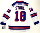 MARC STAAL NEW YORK RANGERS REEBOK NHL PREMIER WHITE JERSEY