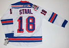 MARC STAAL NEW YORK RANGERS 85TH ANNIVERSARY REEBOK PREMIER WHITE JERSEY