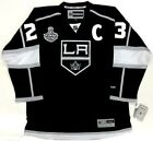 DUSTIN BROWN 2014 STANLEY CUP LOS ANGELES KINGS REEBOK PREMIER JERSEY