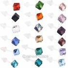 New 10 Pairs 5.5mm Diamond Glass Crystal Stud Earrings Simple Style Square Shape