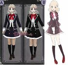DIABOLIK LOVERS Yui Komori Cosplay Costume School Uniform Customized Size CC560