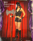 Cinema Secrets Sexy Executioner Adult Costume 4-6 8-10 NIP