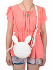 Rabbit Ears Diamond Patterned Shoulder Bag Sling Bag Mini-Handbag Purse