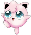 "5.5-9.5"" POKEMON JIGGLYPUFF  ANIME WALL STICKER GLOSSY BORDER CUT OUT"