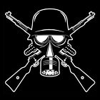 GAS MASK (gasmask ww2 german russian helmet military war israeli nato) T-SHIRT