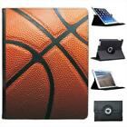Close Up of Leather Basketball Folio Wallet Leather Case For iPad 2, 3 & 4