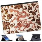 Silk Dragons Folio Wallet Leather Case For iPad 2, 3 & 4