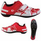 2014 Pearl Izumi Mens Select Road III Cycle Road Racing Clipless Shoes White Red