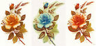 Ceramic Decals Rose Floral Stem Wheat Buds   Asst. Colors image
