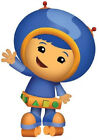 """7-10.5"""" TEAM UMIZOOMI GEO  WALL SAFE STICKER CHARACTER BORDER CUT OUT"""