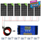 100W 200W 300W 400W 500W 1KW Solar Panel Kit For RV Van Home Battery Charger