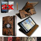 "NEW For Samsung Galaxy Tab2 7.0 or Tab 7.0 ""PLUS"" PU Leather Case Stand + Bundle"