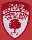NEW JERSEY FIRST AID STATE PARKS AND FORESTRY  SHOULDER PATCH