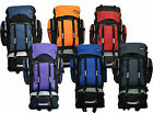EXTRA LARGE FOOLSGOLD HIKING BACKPACK CAMPING FESTIVAL TREKKING BAG DUAL SECTION