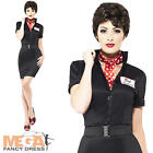 Rizzo Grease Movie Fancy Dress Ladies 1950s Womens 50s Costume Outfit Brand New