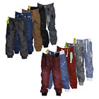 BOYS ZICO KIDS DESIGNER TAPERED FIT CUFFED ANKLE DENIM CHINOS JEANS 2-8 YEARS